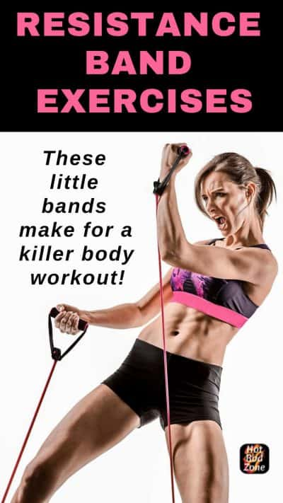 Resistance Band Exercises - These little bands make for a killer body workout!
