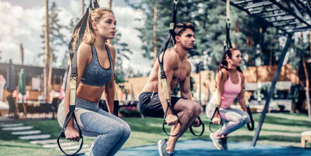 Group Training with Total Body Resistance Exercises