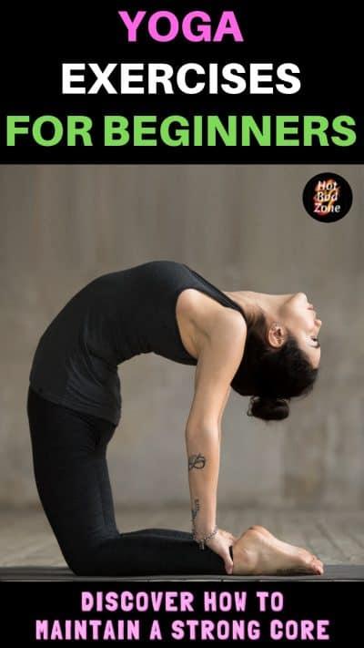 woman doing yoga reverse bend