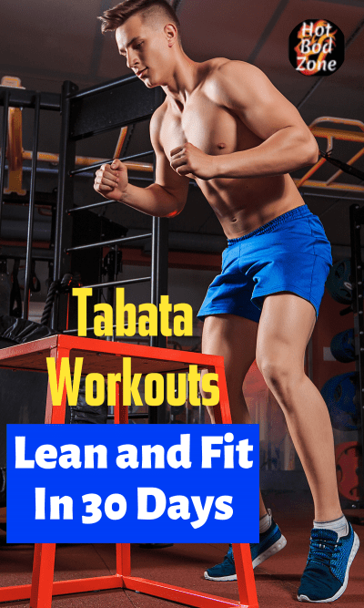 Man doing tabta workout