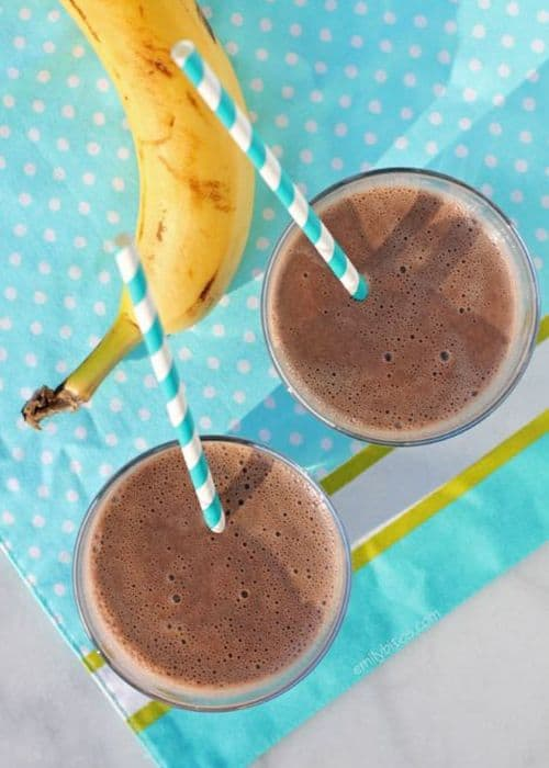 Banana Chocolate Almond Weight Loss Smoothie Recipes