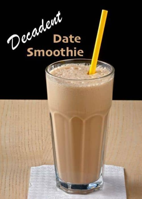 Decadent Date Weight Loss Smoothie Recipes