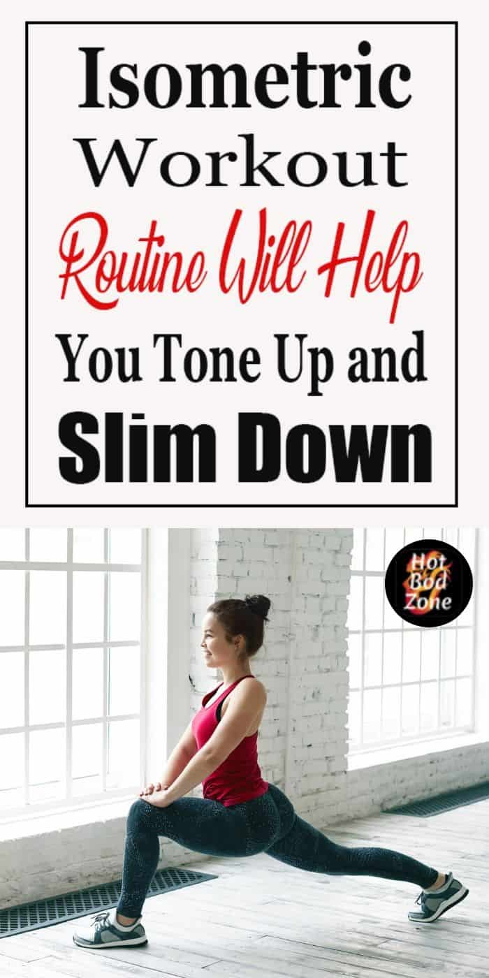 Isometric Workout Routine Will Help You Tone Up and Slim Down