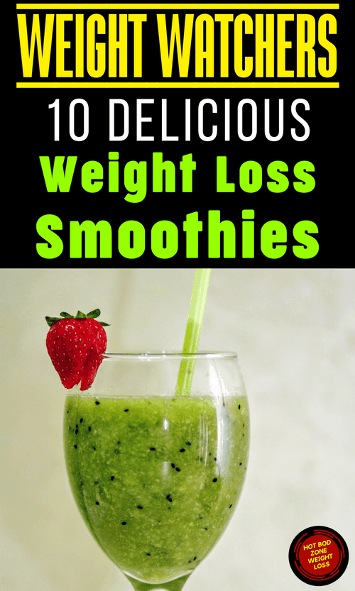 Weight Watchers 10 Delicious Weight Loss Smoothies