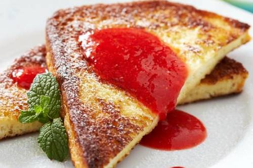 WW Strawberry French Toast