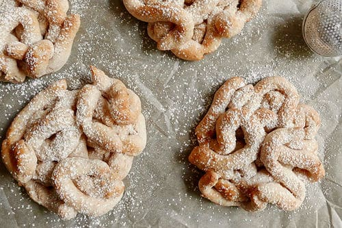 Air Fryer Funnel Cakes