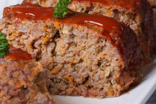Classic Skinny Meatloaf - Weight Watchers Dinner Recipes