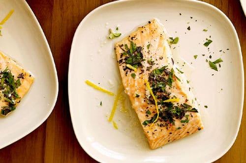 Lemon-Herb Roasted Salmon
