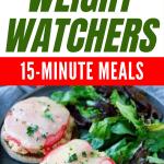 Light Salmon Melt -- WW 15-Minute Meals