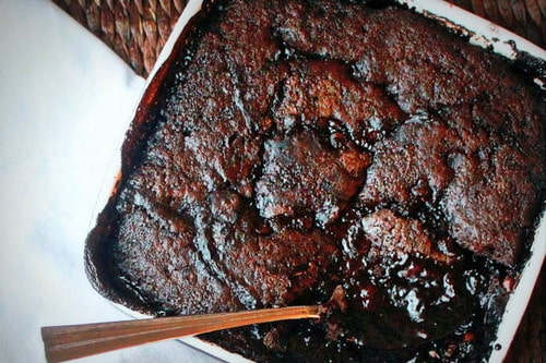 Deep Dark Hot-Fudge Pudding Cake