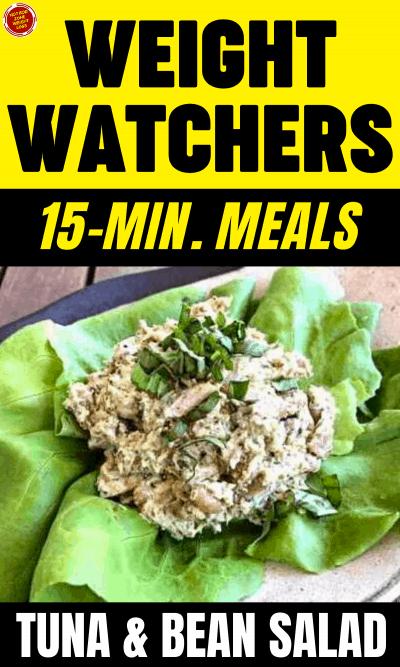 WW 15 Minute Meals - Tuna & Bean Salad