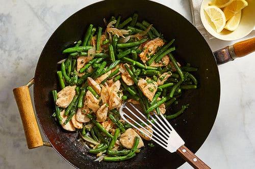 Chicken Piccata Stir-Fry - Weight Watchers Dinner Recipes