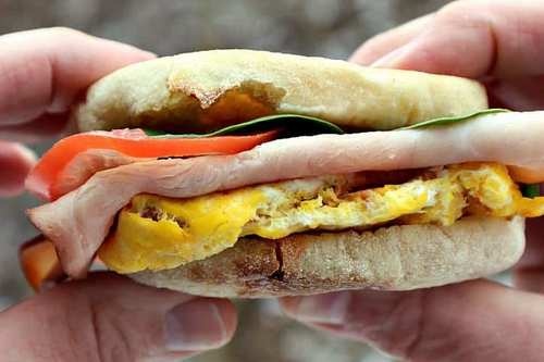 Hearty High-Protein Breakfast Sandwich