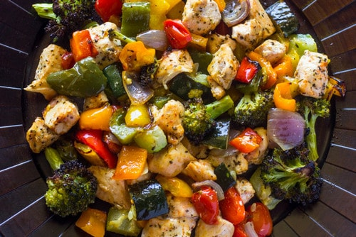 Roasted Chicken and Veggies - 15-Minute WW Meals