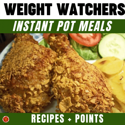 WW Instant Pot Meals - Recipes + Points
