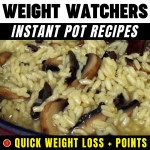 WW Instant Pot Recipes Quick Weight Loss + Points