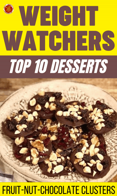 WW Top 10 Desserts - Fruit-Nut-Chocolate Clusters