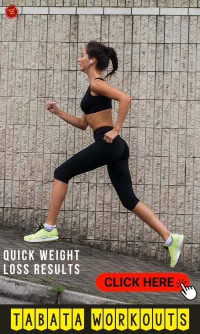 Quick Weight Loss Results with Tabata Workouts