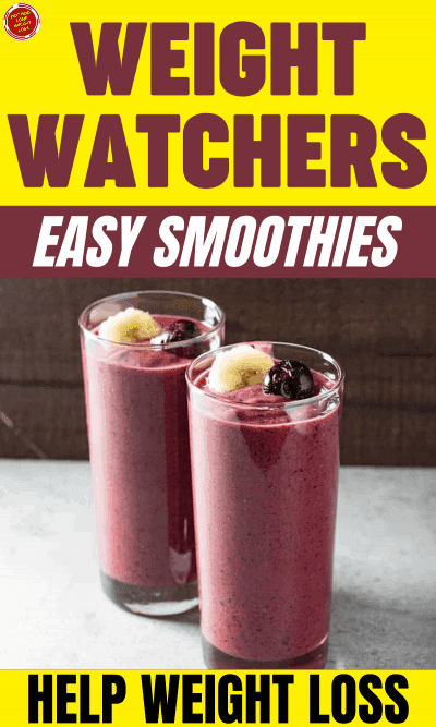 WW Easy Smoothies Help Weight Loss