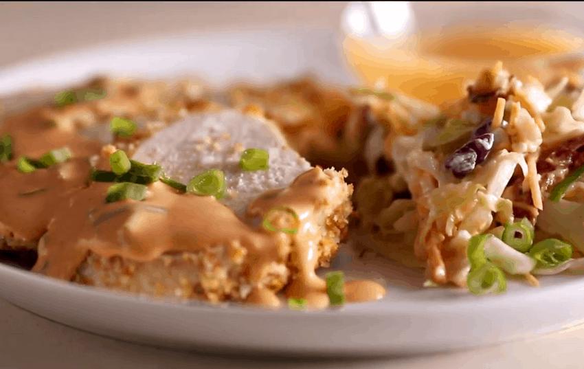 Chicken with Buffalo Cream Sauce