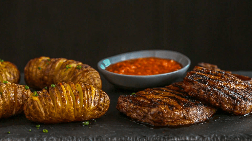 Chili Butter Steaks