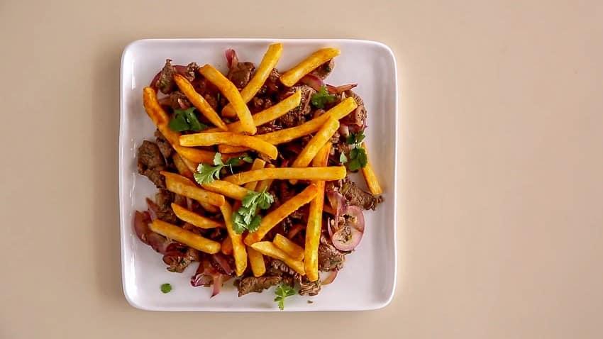Peruvian Steak with Fries