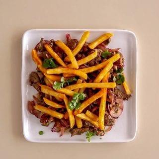 Peruvian Steak with Fries Recipe