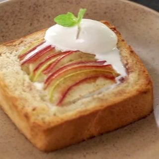 Recipe Apple Cinnamon Toast