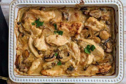 Creamy Chicken Casserole - Weight Watchers Chicken Recipes