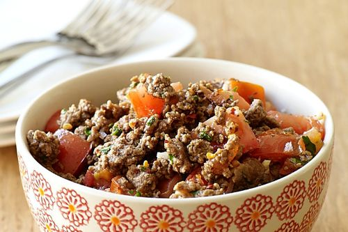 Sautéed Beef with Tomatoes and Basil - weight watchers beef recipes