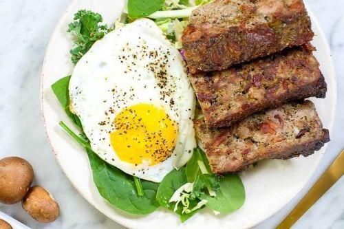 15 Breakfast Meatloaf (Paleo, Whole30 + Keto)