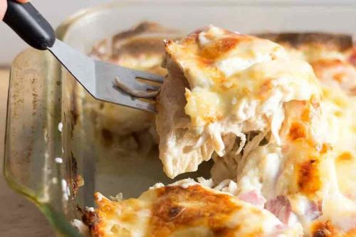 Chicken Cordon Bleu Casserole - Keto Chicken Recipes