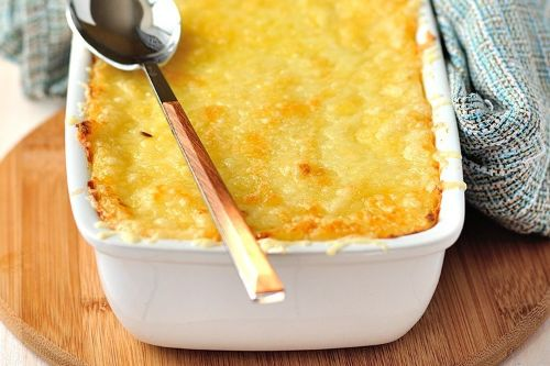 Easy Cheesy Keto Pork Casserole - Keto Pork Recipes