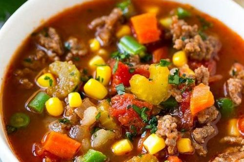 7 Hamburger Soup - Keto Beef Recipes