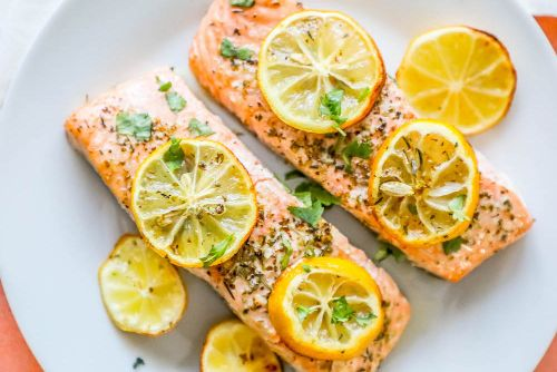 1. Garlic Salmon Recipe - Keto Meals Ideas