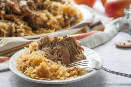 10. Instant Pot Keto Pork And Sauerkraut