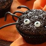 10. Spooky Spider Halloween Cupcakes