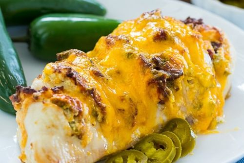 11 Air Fryer Jalapeno Popper Hasselback Chicken