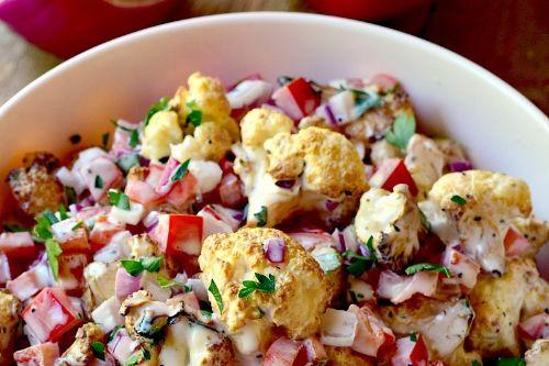 11. Keto Smoked Hawaiian Cauliflower Salad
