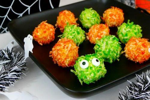 Low Carb Monster Bites - Healthy Halloween Treats
