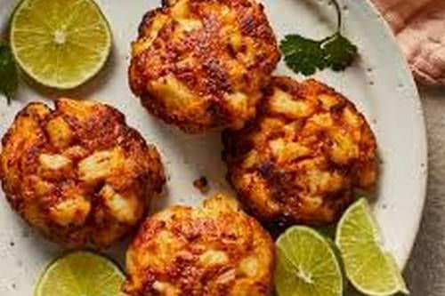 12. Air-Fryer Fish Cakes - Keto Meals Ideas