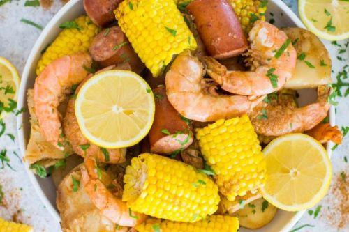 13. Instant Pot Shrimp Boil - Instant Pot Seafood Recipes