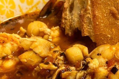 13. Keto Instant Pot Bouillabaisse