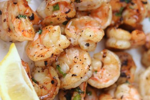 14. Air Fryer Garlic Butter Shrimp
