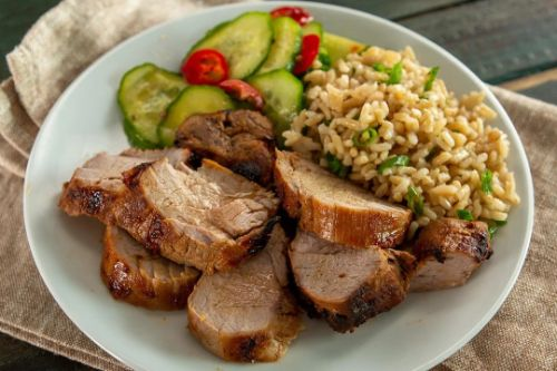 Air Fryer Marinated Pork Tenderloin