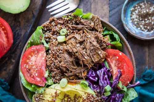 2. Keto Instant Pot Barbacoa Beef - Instant Pot Beef Recipes