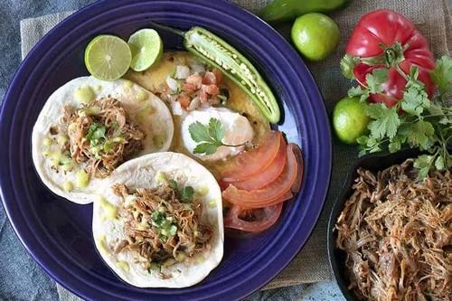 2. Mexican Keto Pulled Pork - Instant Pot Pork Recipes