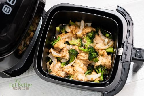 20 Healthy Air Fried Chicken and Broccoli