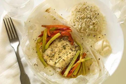 20.Fish en Papilotte - Keto Meals Ideas
