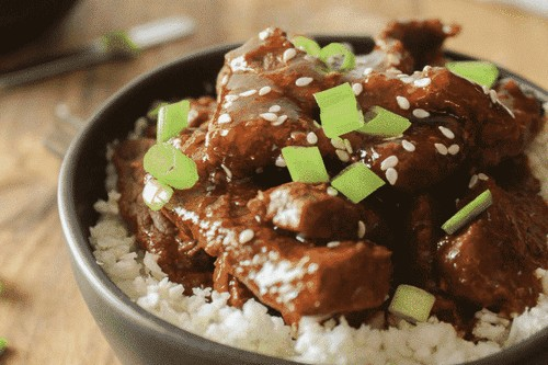 3. Instant Pot Keto Mongolian Beef